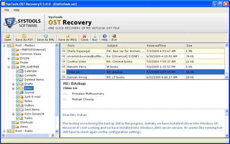 New MS Exchange OST to PST Converter Tool
